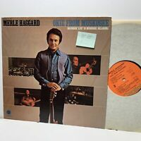 Merle Haggard Okie From Muskogee- Capitol ST 384- Country LP- VG+-/VG+-