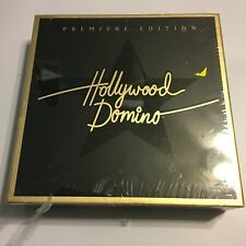 Hollywood Domino Premier Edition Game Hasbro Parker Bros New Sealed Flaw