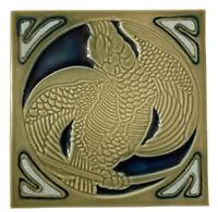 Rookwood Pottery 2010 Parrot/Bird Tile Trivet Mold 2043