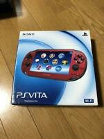 Sony Play Station PS Vita Slim Cosmic Red PCH-1000 ZA03 Console W/BOX FedEx [K]