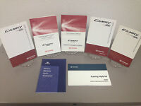 2009 Toyota Camry Hybrid OEM Owner's Manual including Navigation and Supplements