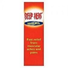 Deep Heat Rub, Fast Relief Cream - 100-Gram