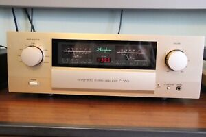 Accuphase E-360 + AD-30 P.I.A High End Vollverstärker OVP TOP Zustand.