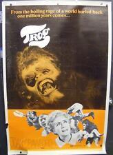 "TROG SCI-FI ORIGINAL MOVIE THEATER GIANT POSTER 1970 JOAN CRAWFORD 40"" x 60"""