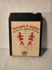 Ferrante & Teicher Wish You A Merry Christmas Eight 8 Track Tape et414