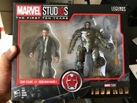 "Marvel Legends 6"" MCU First Ten 10 Years Tony Stark Iron Man Mark I Sealed"