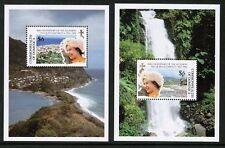 QEII Dominica 40th Anniversary Accession 1992 MNH UMM SG MS 1519-1520