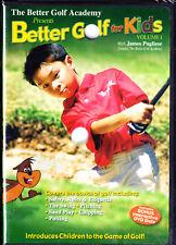 Better Golf For Kids - Vol. 1 (DVD, 2009) New