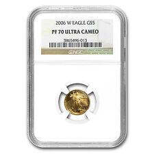 2006-W 1/10 oz Proof Gold American Eagle Coin - PF-70 NGC - SKU #19334