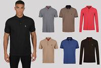 Luke 1977 Mens Various Cotton Casual Plain Top T-Shirt Polo Shirt