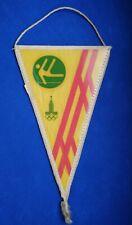 1980 Gymnastics Pennant Emblem XXII Olympic Games Moscow 80 Vintage USSR ☭