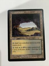 New listing Caves Of Koilos - Apocalypse Magic Mtg Card LP NM White Black Land Rare