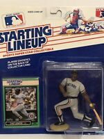 1989 Starting lineup Chet Lemon Baseball figure Card Detroit Tigers toy MLB Rare