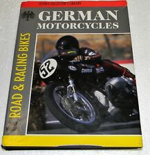 Alemán Motos ,Tapa Dura, 319 Pgs, Mick Walker Road & Racing Motos