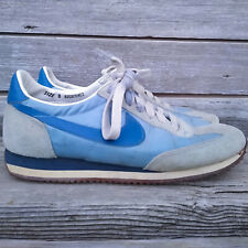 Vintage Nike Oceania Running Shoes 1980s Blue Two Tone