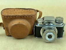 COLLY Camera with Case Japanese Hit Type Subminiature Camera Ca.1960 - Cute !