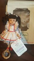 Vintage Effanbee Doll 1992 DOROTHY WITH TOTO MV157 Story Book Series Wizard Oz