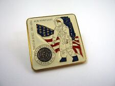 Vintage Collectible Pin: American Legion Gorham New Hampshire First in Space