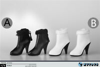 1/6 ZY Toys ZY1012 Female High Heel Short Boots Shoes Model Fit 12'' Figure Doll