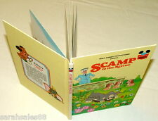 SCAMP to the Rescue: Walt Disney 1980 Children's Book, 1st Edition Hardcover