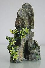 Acuario roca mediana detallado con Plantas Decoración Pinnacle 10 X 5.5 X 16 Cm