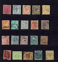 AUSTRALIA PRE-DECIMAL ,STATE STAMPS COLLECTION MIXED STATES..