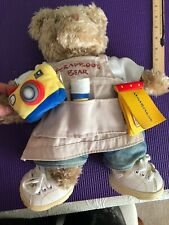 Build A Bear Scrapbook Bear Stuffed Animal