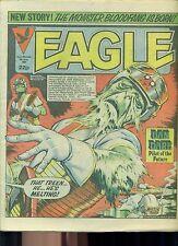 EAGLE weekly British comic book June 9 1984 VG+