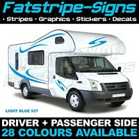 MOTORHOME GRAPHICS STICKERS DECALS CAMPER VAN CARAVAN HORSEBOX DUCATO SWIFT 03