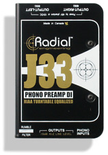 Radial J33 RIAA turntable pre-amp and DI , BEST OFFER R026
