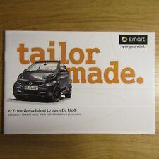 SMART FORTWO BRABUS Tailor Made individualizzazione programma UK Opuscolo 2012