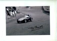 Tony Brooks Vanwall Winner German Grand Prix 1958 Signed Photograph