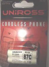 Uniross 87c 2 X AAA Cordless Telephone Battery BC102906