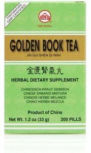Min Shan, Jin Gui Shen Qi Wan, Golden Book Teapills, 200 ct