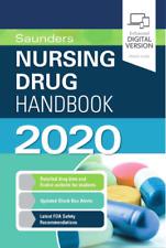 Saunders Nursing Drug handbook 2020 (Instant Shipping)⚡🔥