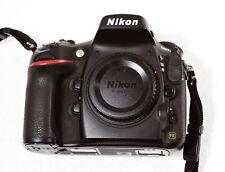 Nikon D800 36.3MP Digital SLR Camera Body w/ Orig. Box, Strap, Battery, SD Card