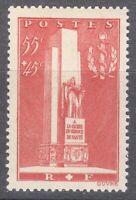 France 1938 MNH Mi 426 Sc B73 Army Medical Corps. WW1 ** Monument