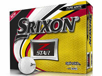 Srixon Z-Star 2019 Golf Balls - 1 Dozen White -  Mens