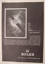 1945 Esquire Original Advertisement WWII Era ROLEX Watches FLORSHEIM Shoes