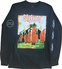 New Men's Slipknot 20 Red Suits Long Sleeve Heavy Metal Band Black T-Shirt Tee