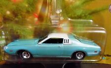 JOHNNY LIGHTNING 73 1973 DODGE CHARGER HOLIDAY MUSCLE CHRISTMAS ORNAMENT CAR