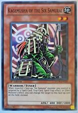 YUGIOH KAGEMUSHA OF THE SIX SAMURAI STOR-EN025 1st EDITION CARD
