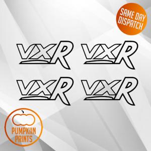 X4 VXR Sticker DECAL- CORSA ASTRA INSIGNIA ZAFIRA VECTRA VAUXHALL  VINYL