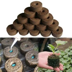 30mm Jiffy Peat Pellets Grain Starting Plugs Pallet Nutrient Soil Block POE