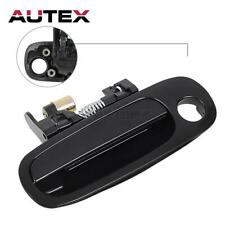 77563 Outer Black Front Left Driver Side Door Handle For 98-02 TOYOTA COROLLA
