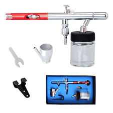 Voilamart 0.35mm 22cc Bottom Feed Dual Action Airbrush Kit with Ink Cups