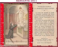 197 SANTINO HOLY CARD S. SANTA MARGHERITA MARIA ALACOQUE SANTA LEGA EUCARI. 9164