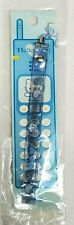 Vtg 1998 Sanrio HELLO KITTY Blue ANGEL WINGS Mobile Cell Phone strap NEW on CARD
