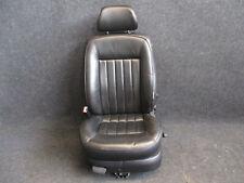 W8 LEDER Fahrersitz VW Passat 3BG W8 Sitz Ausstattung schwarz