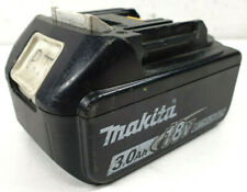 Makita 18v 3.0Ah Lithium-Ion Battery with Gauge- BL1830B - Bids From $1.00